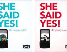 One Condoms // Actual Ad Campaign
