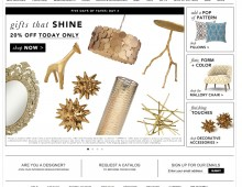 DwellStudio // Gifts That Shine